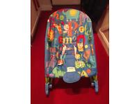 Fisher price infant to toddler rocker with comfort vibrations