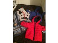 Various boys 9-12 month coats/ jackets