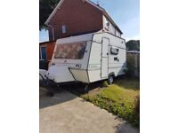 4 berth caravan for sale with extras