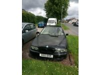 bmw 525d se touring.03 comes with private plate.