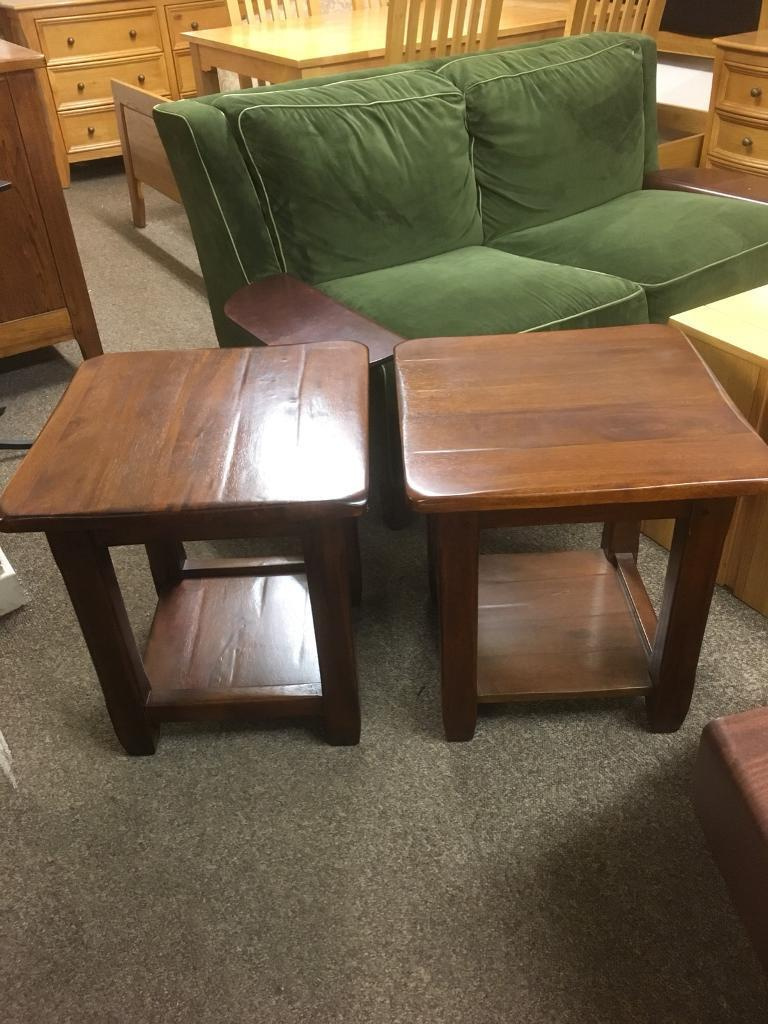 Pair of lamp tables * free furniture delivery *