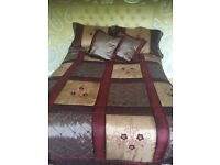 5 piece bedspread set -- Luxurious