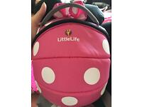Minnie Mouse backpack reigns