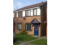 TWO BEDROOMS: SEMI DETACHED: WALSALL: CUL-DE-SAC POSITION: OFF ROAD PARKING: NO DSS ACCEPTED