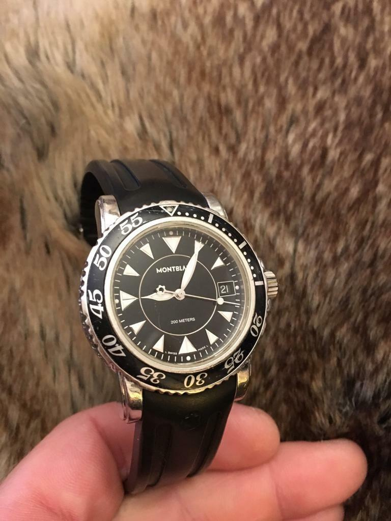 3b54e7fa150 Montblanc 7037 sport watch quartz | in Croydon, London | Gumtree