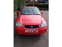Hyundai Accent 1.3 Very Low miles. Just serviced! Low Insurance. 12 month MOT