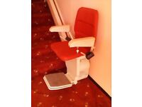 Stannah stairlift ~ straight (not curved)