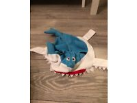 Baby shark costume xs pre-owned