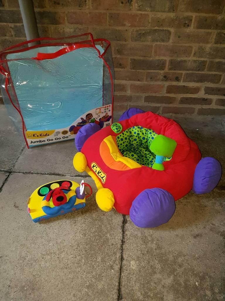 FAB K'S KIDS JUMBO GO GO SOFT CAR SEAT RING X | in Highgate, London | Gumtree