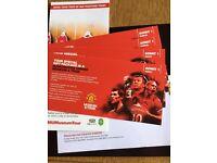 Manchester United Museum & Stadium Tour Family tickets 2xAdult 2xJunior.