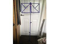 Purple Music Stand