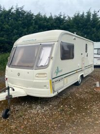 Avondale Caravan with storage facilities