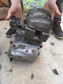 Cb125t Honda engine