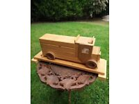 Hand Made Wooden Truck / Lorry