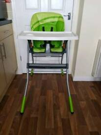 Chicco highchair (Used)
