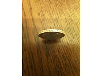 1998 £2 coin - Genuine engraving error [PRICE NEGOTIABLE]