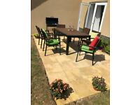 Outdoor dining set up for sale (ikea)