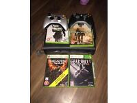 Xbox 360 - 120gb 2 controllers and 4 games