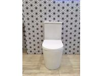 Modern Close Coupled Toilet WC With Soft Close Seat RRP £295