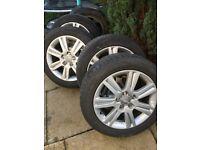 Audi alloy wheels 17 inch