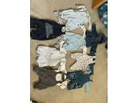 Up to 1 month baby boy outfits