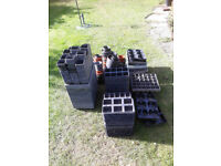 Plastic seed trays and pots free