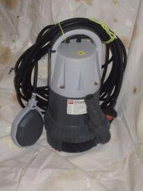 submersible water pump.