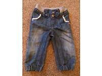 Girls Next jeans 12-18 months