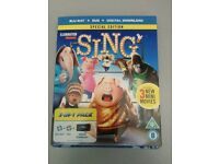 Sing [Blu-ray + DVD + Digital] [2017]