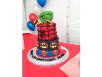 Awesome superhero cake!