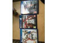 PS4 GAMES FOR SALE! - UFC/NBA2k17/Battlefield1