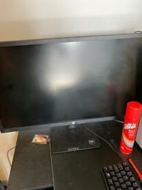 Hp v28 4k monitor. 27 inch