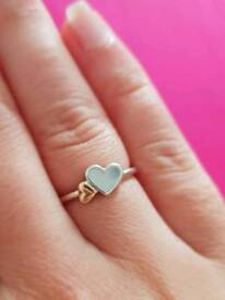 Pandora Luminous Hearts Feature Ring