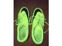 Yellow Nike Football Boots Size 5