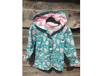 Hatley Girls Showerproof Coat aged 7