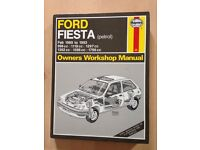 Ford Fiesta Haynes owners workshop manual