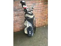 Full Set OF Hippo Golf CLubs + Bag