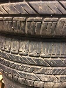 225/65/17 Goodyear and Ironman all season tires