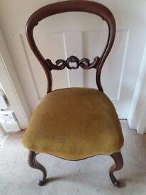 Victorian Mahogany Dining Chair