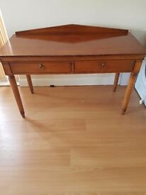 Large two draw desk / table