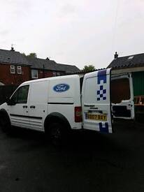 07 Ford transit connect tidy van