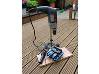 Skil Electric Drill, Drill Stand and Steel Machine Vice