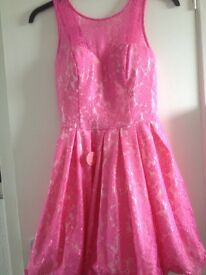 Chi Chi prom style dress with sweetheart neckline