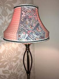 Cute hand made one off lampshade