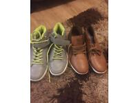 Two pairs of shoes in pristine condition