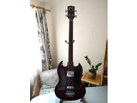 Genuine 70's Columbus Bass Guitar EB-3 vintage Japanese Gibson lawsuit copy MIJ Made in Japan