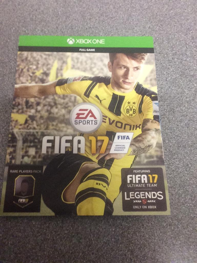FIFA 17 xbox one full game REDEEM CODE! | in Rayleigh