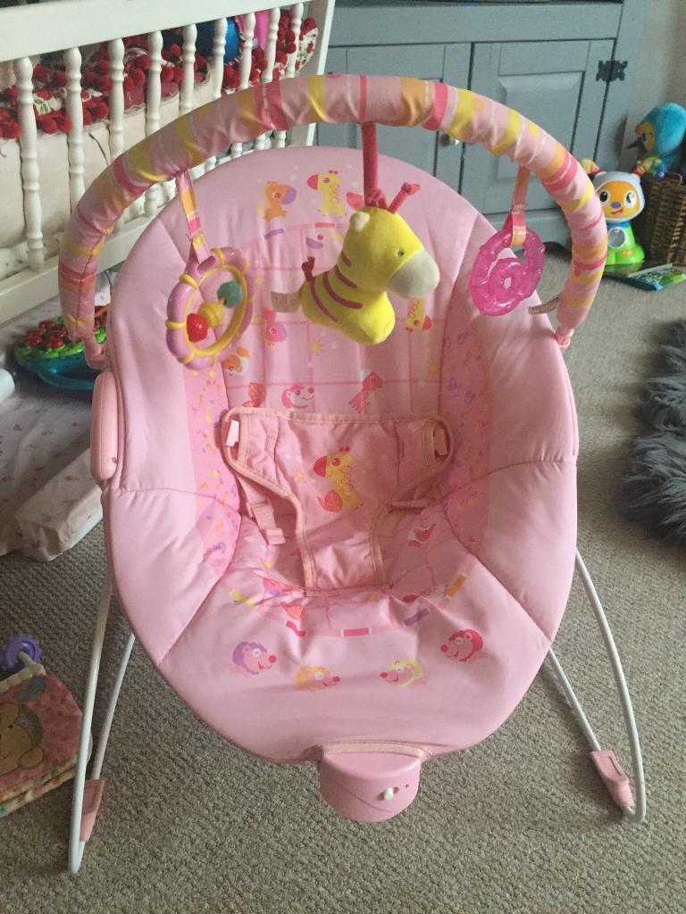 REDUCED BABY VIBRATING BOUNCER