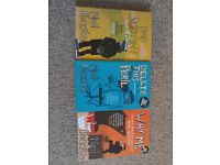 3 Bob Servant books, excellent condition, £10