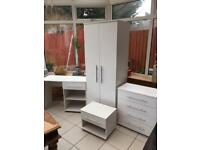 BEDROOM FURNITURE FOUR PIECE